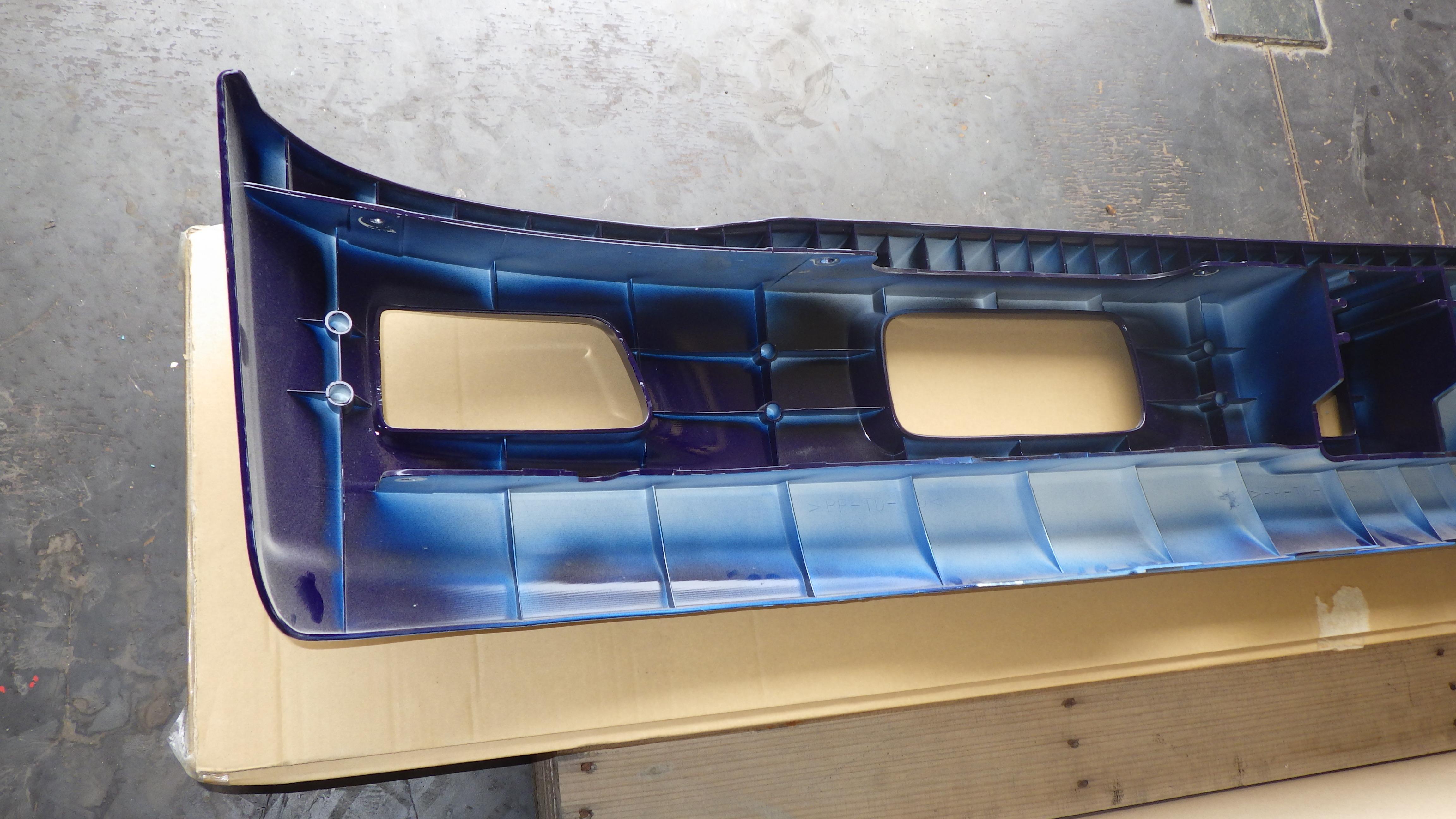 いすゞ07エルフ ワイドキャブ用 純正 フロントバンパー8