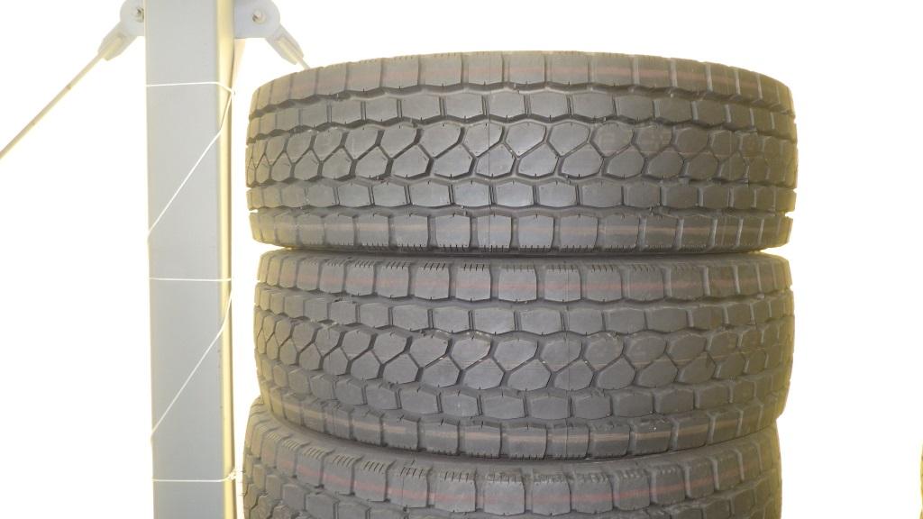 245/70R19.5 スチールホイール付 未使用タイヤ 4本セット5