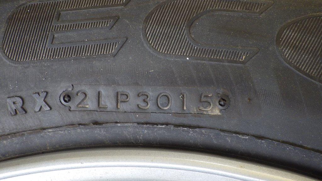 245/70R19.5 未使用品 大型低床用 スペアタイヤ スチールホイール付6