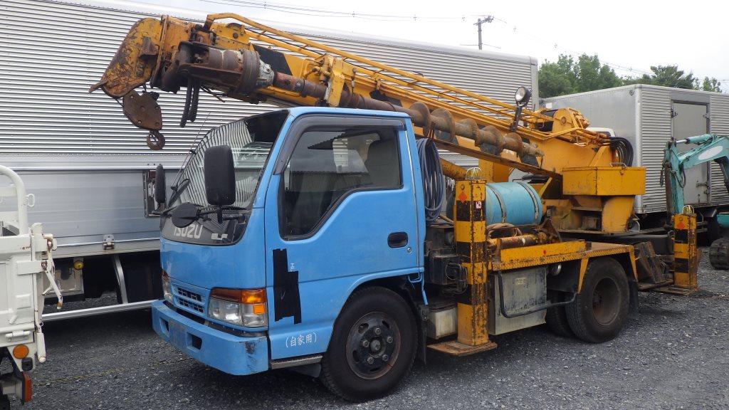穴掘建柱車 トレーラーヘッド 特殊車両の買取もアイケイアール
