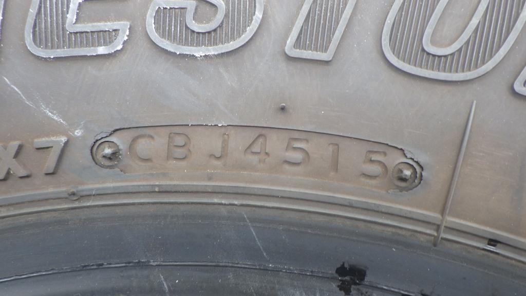 スタッドレスタイヤ ブリジストン ブリザック 195/75R155