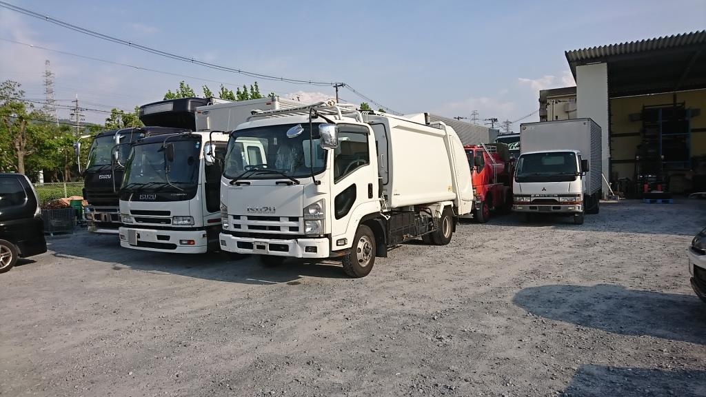東大阪 トラック フォークリフト 不動車の買取もアイケイアール