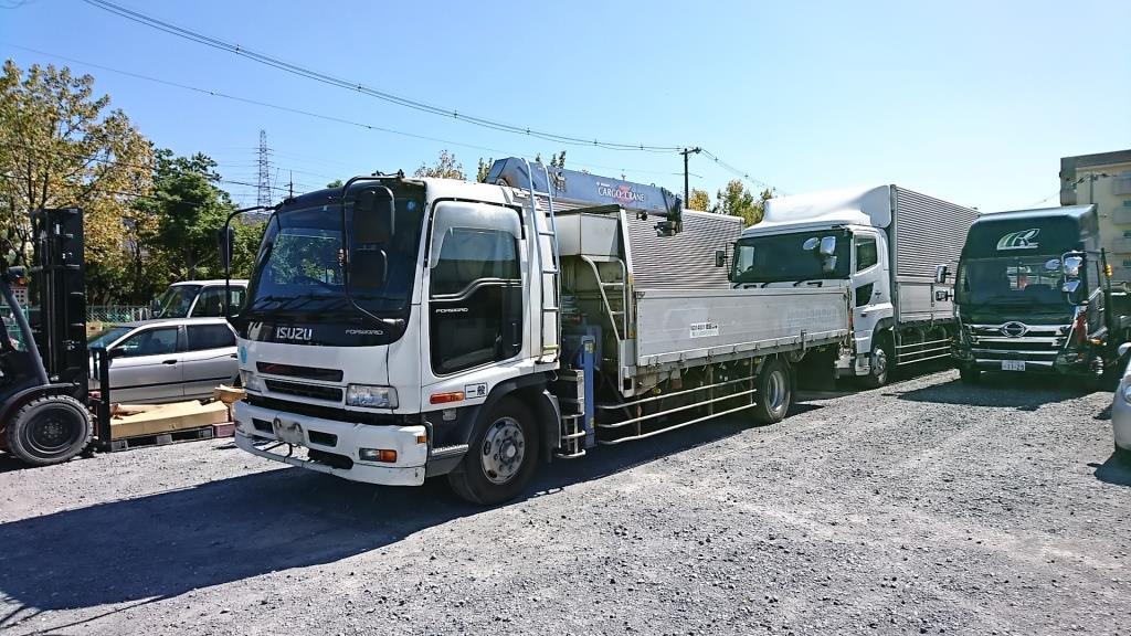 特殊車両 ダンプ クレーン車 買取りのアイケイアール