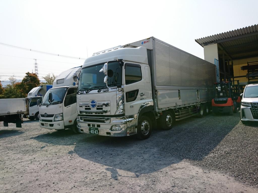 西日本 近畿圏内のトラック販売 買取のアイケイアール