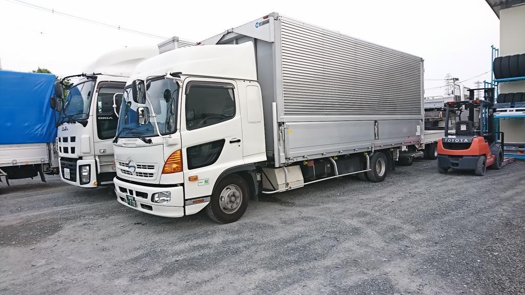 トラック販売 本日納車 いすゞギガ アルミウィング 日野レンジャー