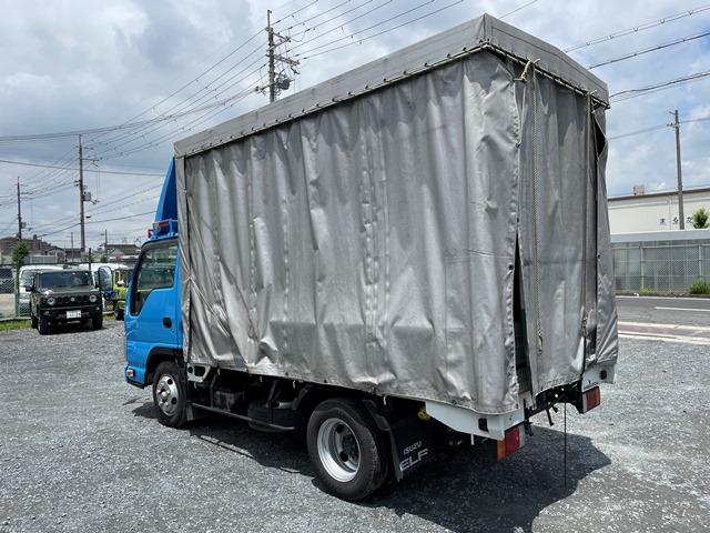 H29年 TRG-NJR85A 幌車 カーテン式 10尺 外部評価付き4