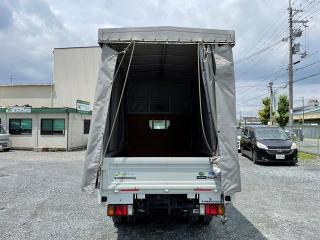 H29年 TRG-NJR85A 幌車 カーテン式 10尺 外部評価付き11