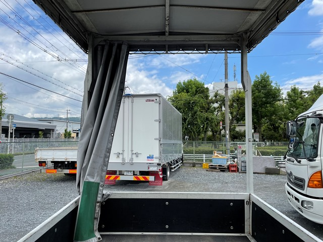 H29年 TRG-NJR85A 幌車 カーテン式 10尺 外部評価付き14