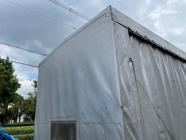 H29年 TRG-NJR85A 幌車 カーテン式 10尺 外部評価付き36