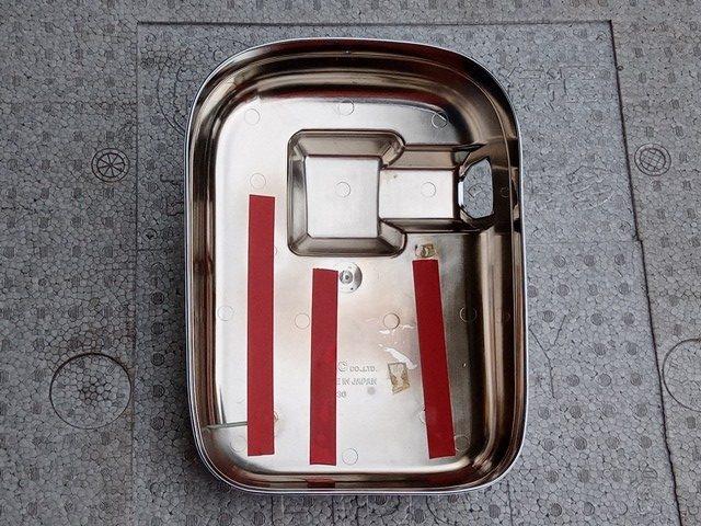 YAC製 UDクオン用メッキミラーカバー/助手席側3