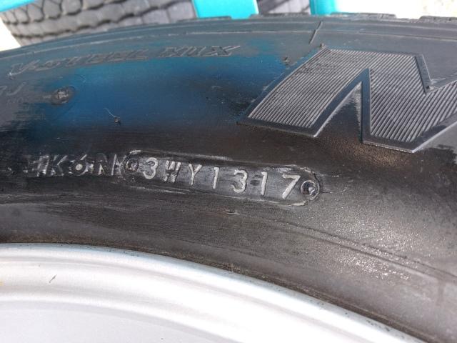 275/80R22.5 リトレットタイヤ スチールホイール付き 4本セット5