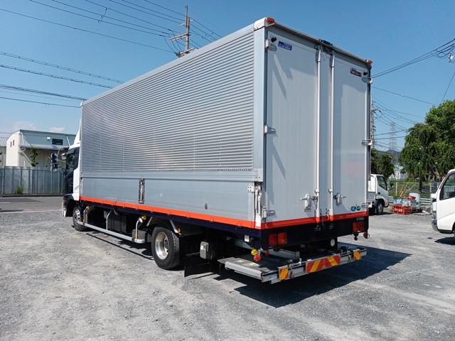 H23年 UDトラックス 4t格納ゲート付アルミウイング 6MT エアサス4
