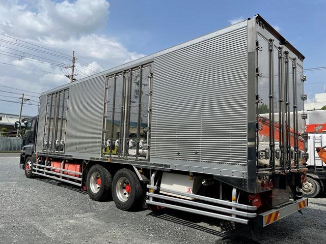 ギガ H24年式 QKG-CYL77A 冷凍車 サブエンジン付4