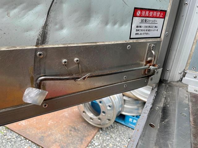 H24年 いすゞ エルフ ワイド 格納ゲート付きロングバン 6MT16