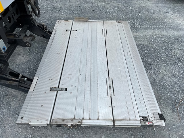 H24年 いすゞ エルフ ワイド 格納ゲート付きロングバン 6MT20