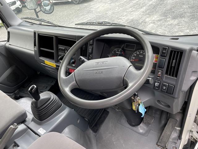 H24年 いすゞ エルフ ワイド 格納ゲート付きロングバン 6MT30