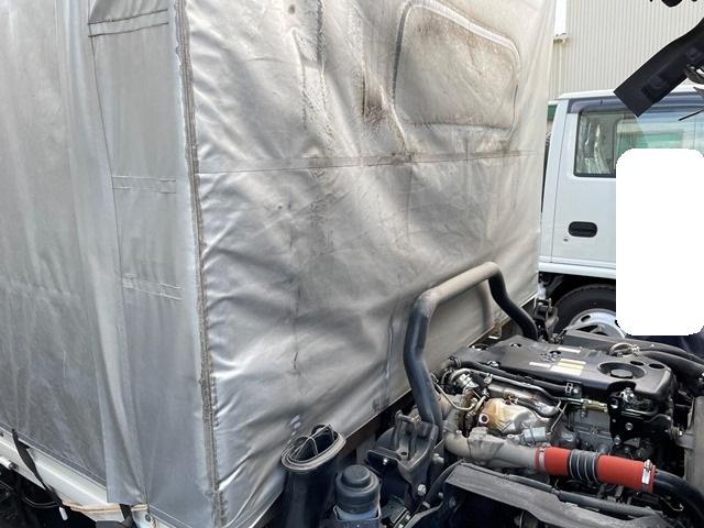 H28年 TRG-NPR85AR いすゞ エルフ ワイドロング極東開発製垂直PG付ホロ40
