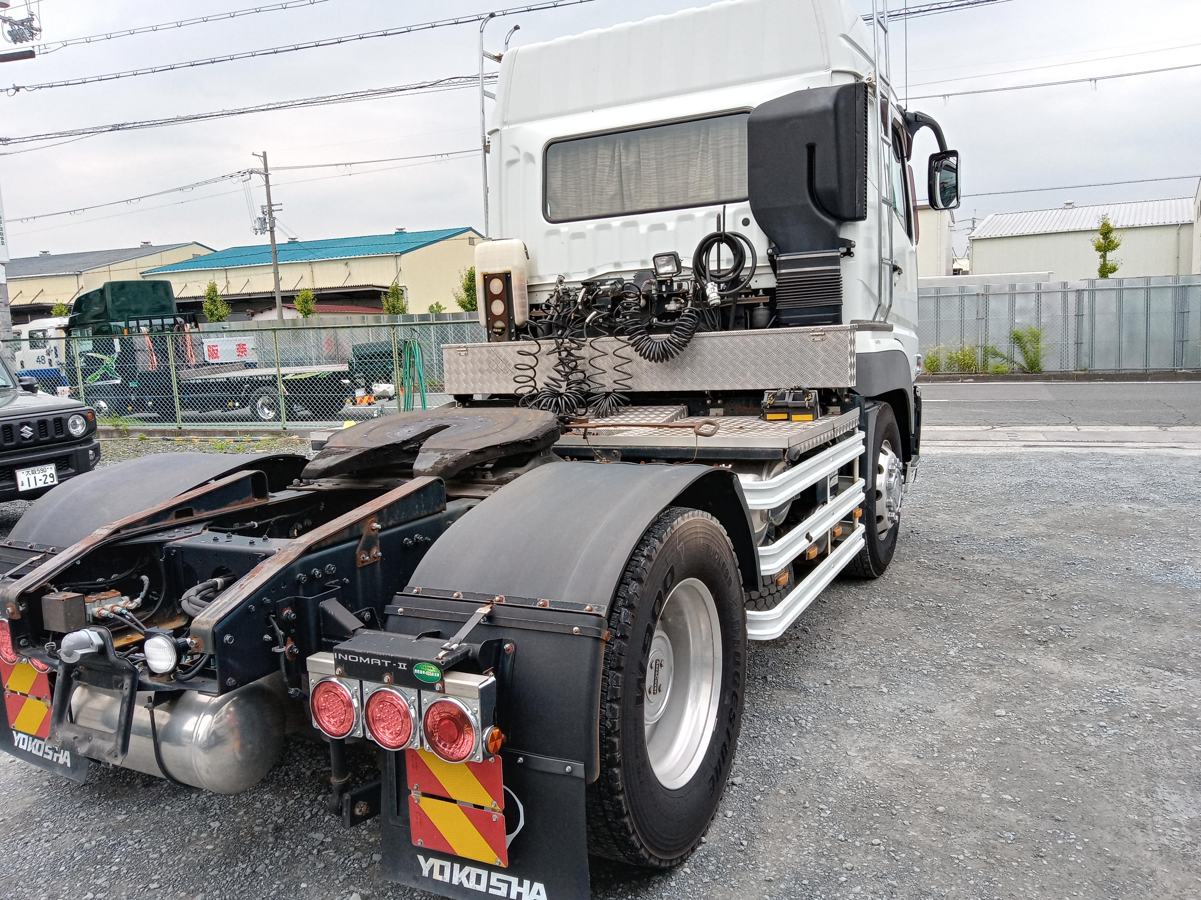 H27年 QPG-FP64VDR 三菱 スーパーグレート トラクタ 車検付 297千㎞4