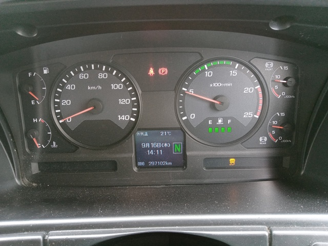 H27年 QPG-FP64VDR 三菱 スーパーグレート トラクタ 車検付 297千㎞15