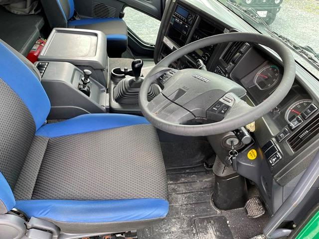 H28 QKG-CYM77B いすゞ ギガ アルミブロック 7MT 380PS18