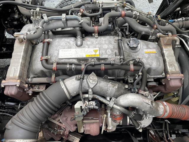 H28 QKG-CYM77B いすゞ ギガ アルミブロック 7MT 380PS64