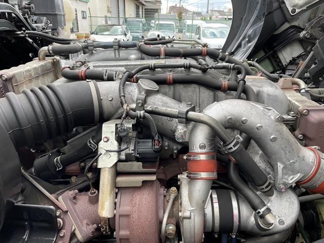 H28 QKG-CYM77B いすゞ ギガ アルミブロック 7MT 380PS66
