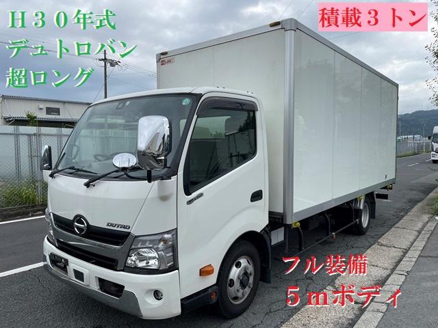 近日掲載予定車両!! H30年式 デュトロバン 超ロング