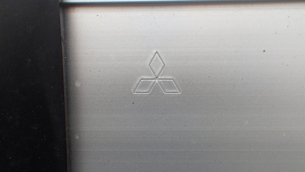 三菱フソウ 純正部品 リヤアルミバンパー 取付ステー付2