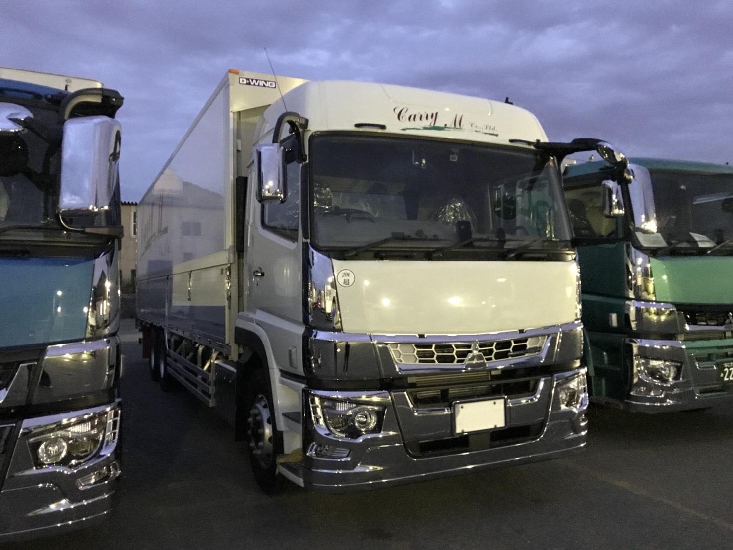 明日は新車 大型トラックの買取も販売も全国にてヽ(^o^)丿