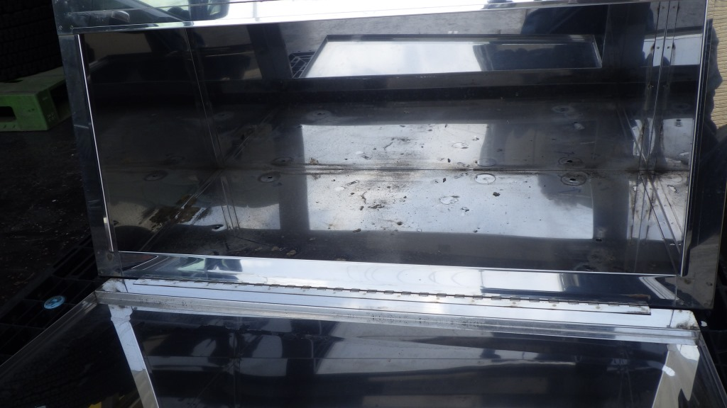 鏡面 メッキ 工具箱 幅 900mm トラック用工具箱5