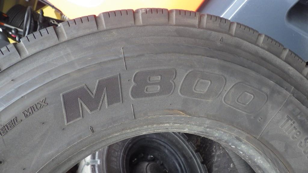 225/80R17.5 バリ溝 ミックスタイヤ5