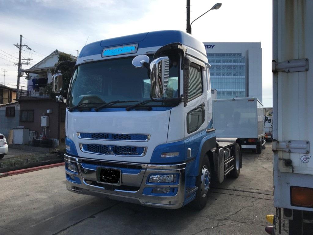 大型トラック販売 塗装 架装