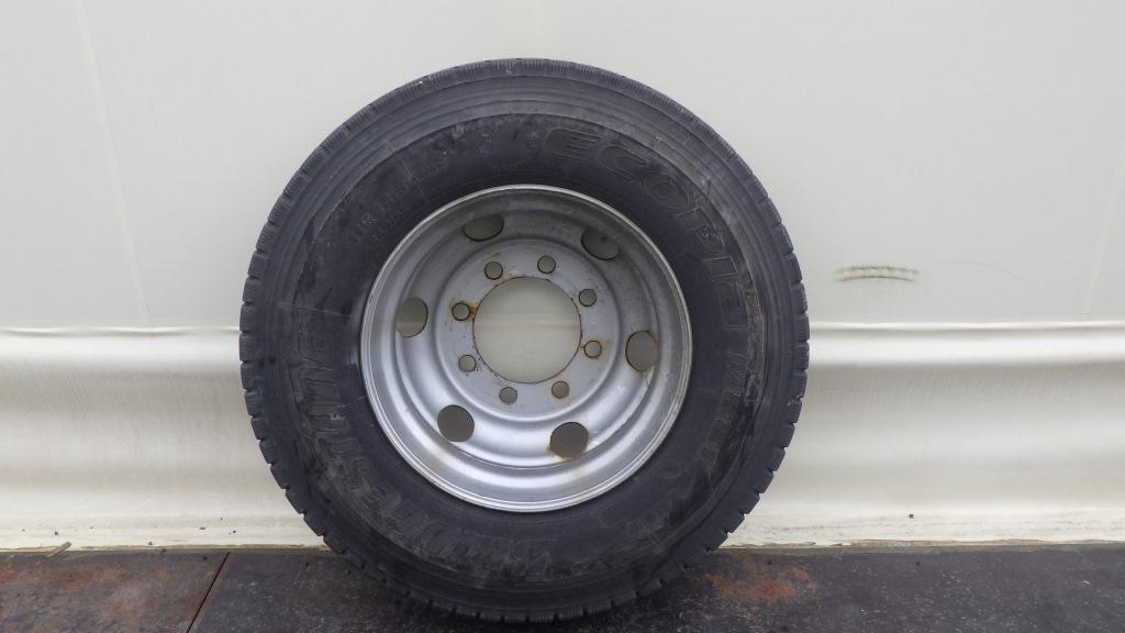 11R22.5 スチールホイール付タイヤ 1本1