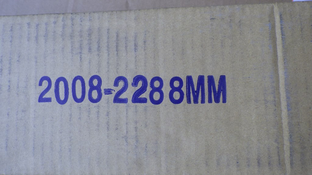 ラッシングバー エバープラウド 2008mm-2288mm4