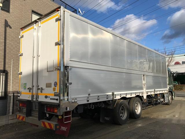 クオン QPG-CD5ZA トレクス製ウイング 車検付 2