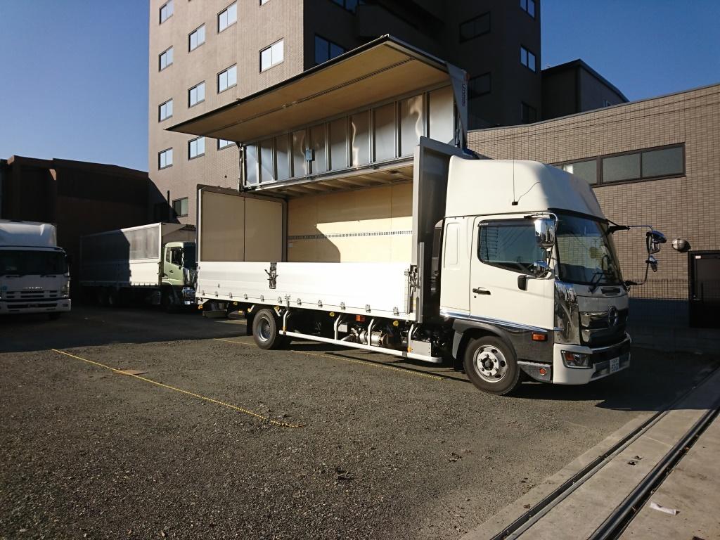 東大阪 トラック買取 ウィングバン クレーン 塵芥車の高価買取はアイケイアール株式会社