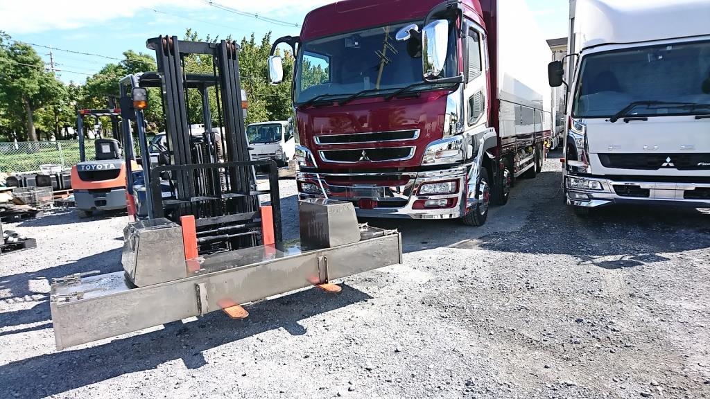 大型トラック 用 SUS製リン木BOX  パーツ買取のアイケイアール