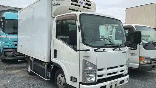 エルフ 冷蔵冷凍車 CNG車