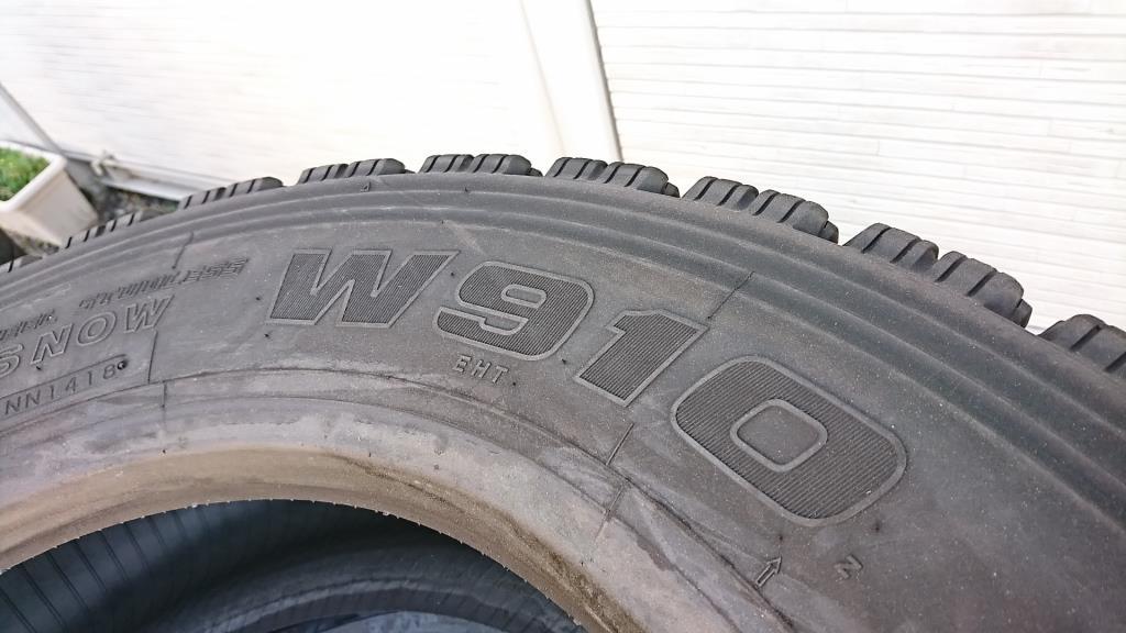 スタッドレスタイヤ 245/70R19.5 スタッドレスタイヤ8本セット5