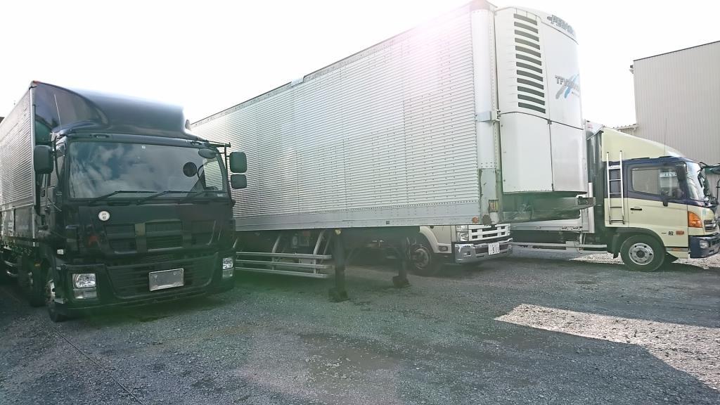 大型トラック 冷蔵冷凍車 セミトレーラー 販売のアイケイアール