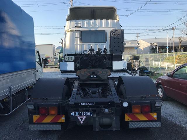 H25年 QKG-EXD52AD シングルトラクター ハイルーフ6