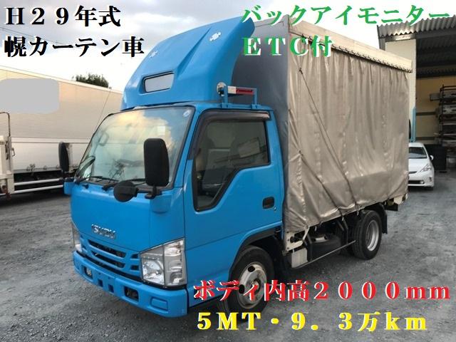 H29年 TRG-NJR85A 幌カーテン車 10尺1