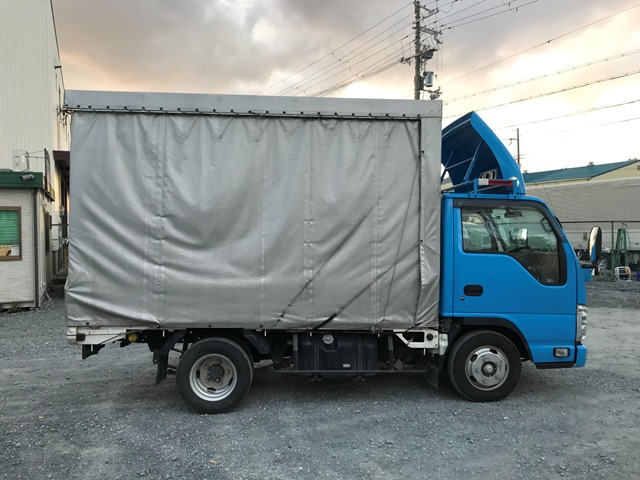 H29年 TRG-NJR85A 幌カーテン車 10尺8