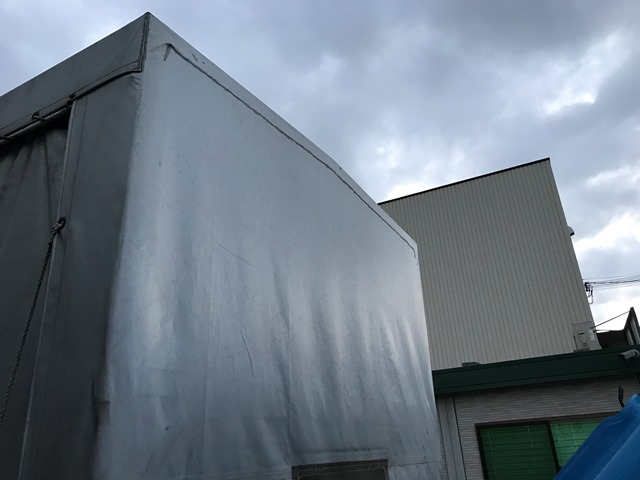 H29年 TRG-NJR85A 幌カーテン車 10尺35