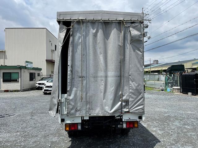 H29年 TRG-NJR85A 幌車 カーテン式 10尺 外部評価付き10