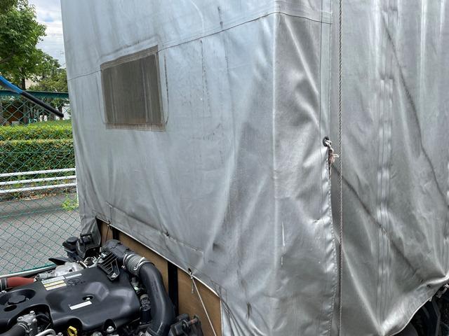 H29年 TRG-NJR85A 幌車 カーテン式 10尺 外部評価付き37