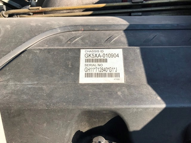 H25年 QKG-GK5XAB シングルトラクター ハイルーフ45