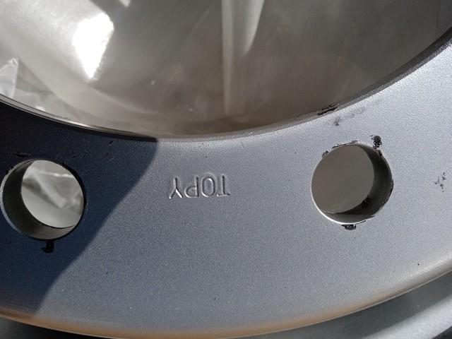 トピー製 ISO 平面座 鉄製ホイール J22.5x7.50K3