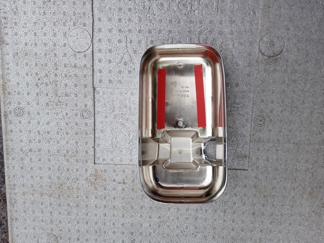 YAC製 UDクオン用メッキミラーカバー/運転席側2