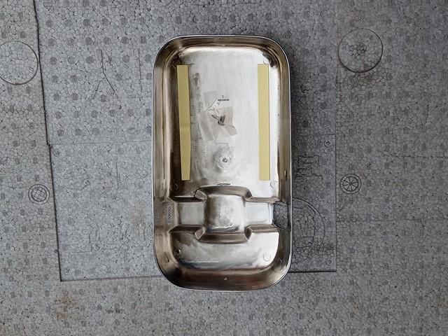 JET製 UDクオン用メッキミラーカバー2